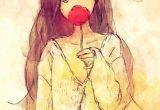 Drawing Anime Watercolor A Little Bit Shy Tranime 3 Drawings Anime Art
