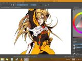 Drawing Anime with Krita Demonstration Illustrating Geo Scout In Krita Millennium Steve