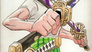 Drawing Anime Zoro How to Draw Roronoa Zoro One Piece One Piece Zoro Roronoa