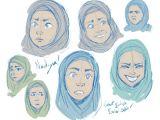 Drawing asian Eyes Tumblr Hijab Drawing Tumblr