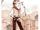 Drawing Bad Cartoons Hardlined Wolfman Art Drawings Character Design