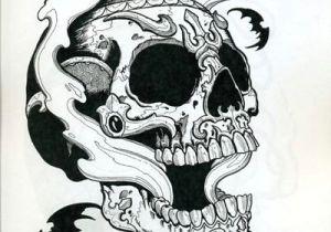 Drawing Badass Skull Horimouja Books Ha Adaa Googlom Japan Tattoo Tattoos Skull
