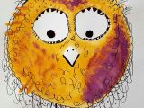 Drawing Bird Eyes Happy Bird Galerie Kunterbunte Happy Birds Nach Owls Painting