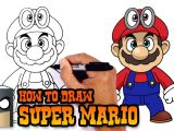 Drawing Cartoon 2 Full Free How to Draw Super Mario Super Mario Odyssey Youtube