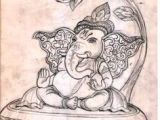 Drawing Cartoon Ganesh 258 Best Ganesh Art Images Ganesha Art Baby Ganesha Buddha