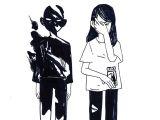 Drawing Cartoon Guns Kinorinsama Apparition Inktober 13 Bwwh Pinterest Draw