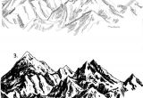 Drawing Cartoon Mountains How to Draw Rocks Step by Step Google Search Sketch Pinterest