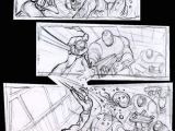 Drawing Cartoon On Computer Suckerpunch Storyboards Wow Art Boarding Staging Lighting