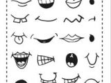 Drawing Cartoon Pdf Drawing Helps for Eyes Mouths Faces and More Party Matthew