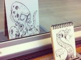 Drawing Cartoon Real the Octopus attack 18 Creative Arty Cartoon Bomb Drawings that