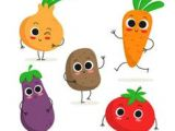 Drawing Cartoon Vegetables 13 Best Vegetable Cartoon Images Graphics Drawings Etchings