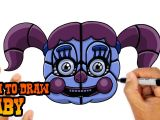 Drawing Cartoons 2 Five Nights at Freddy S How to Draw Baby Fnaf Sister Location Youtube