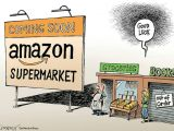 Drawing Cartoons Amazon when Amazon Comes to town the New York Times Editorial Cartoons