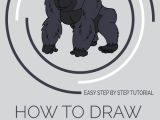 Drawing Cartoons and Comics for Dummies How to Draw A Cartoon Gorilla In A Few Easy Steps Cartoon and