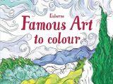 Drawing Cartoons Anna Milbourne Famous Art to Colour Usborne Wishlist Pinterest Homeschool