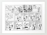 Drawing Cartoons Career the Career Art Print by Robmillion society6