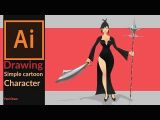Drawing Cartoons In Illustrator Tutorial Drawing A Simple 2d Cartoon Game Character In Adobe Illustrator