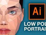 Drawing Cartoons In Illustrator Tutorial Illustrator Tutorial Low Poly Portrait Youtube