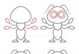 Drawing Cartoons Made Easy How to Draw An Ant In 2019 Drawing Drawings Easy Drawings Art