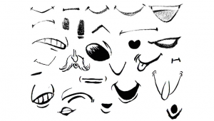 Drawing Cartoons Mouth Drawing Cartoon Illustrated Mouths Lips Reference Sheets Draw