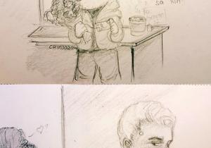 Drawing Cartoons On android Said asshole Falls In Love with android asshole that S It that S