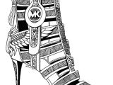 Drawing Cartoons Shoes 3 Beautiful Michael Kors Shoes Drawings for Fashion Lovers Shoes