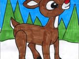 Drawing Cartoons Tutorial Pdf Draw Rudolph Pinterest Pdf Tutorials and Winter Art