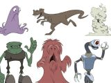 Drawing Cartoons Wacom Animation Foundations Drawing Cartoon Characters