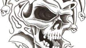 Drawing Clown Skull Skull Jester 1 by thelob On Deviantart Leannaparks Tattoos