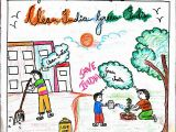 Drawing Contest Ideas Easy Young Talents Clean India Green India India Poster