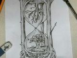 Drawing Creative Things Creative Hourglass Drawing My Artwork In 2019 Drawings