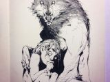 Drawing Creepy Wolf andrew Mar andrewkmar A A Twittera C A A C Character Design