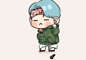 Drawing Cute Bts Cute Mic Drop Fan Art Bts Bts Bts Chibi Bts Suga