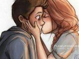 Drawing Cute Couple Kissing Cartoon Couple Cute Kiss Goals In 2019 Drawings Love Drawings