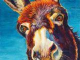 Drawing Cute Donkey 338 Best Donkey Art Images Donkey Animal Drawings Animal Paintings