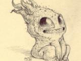 Drawing Cute Skull by Chris Ryniak Monsters Drawings Art Scribble