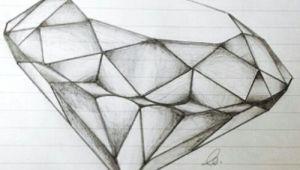 Drawing Diamond Heart Pin by Brianna Taylor On Artsy Drawings Diamond Drawing Art