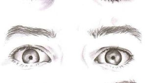 Drawing Different Eye Types even without the Color I Know who is who and these are the Most