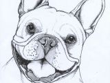 Drawing Dog Tree Frenchie French Bulldog Pet Portrait Dog Portrait Teunen