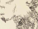 Drawing Dog Tree Samoyed Artist Kline Draws His Dog Art Using Only Words Signed