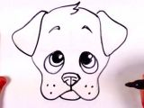Drawing Dogs Face Cartoon Draw A Dog Face Doodles Drawings Puppy Drawing Easy Drawings