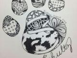 Drawing Dogs Feet Pin by April Dikty ordoyne On Sugar Skulls Drawings Ink Zentangle