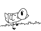 Drawing Duck Eyes Duck Drawception