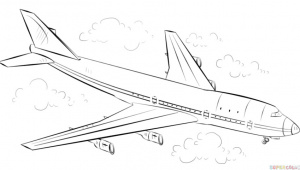 Drawing Easy Airplane How to Draw An Airplane Step by Step Drawing Tutorials for Kids and
