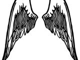 Drawing Easy Angel Wings Free Image On Pixabay Wings Angel Feather Winged Wings