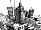 Drawing Easy Buildings A Step by Step Tutorial On the Basics Of Three Point Perspective