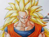 Drawing Easy Goku How to Draw Goku Super Saiyan 3 Step by Step Tutorial Youtube
