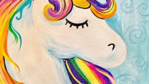 Drawing Easy Rainbow How to Paint A Rainbow Unicorn Easy Kids Painting Ideas