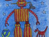 Drawing Easy Robot Robot Line Drawings Art 3rd Pinterest Art Sub Lessons Art