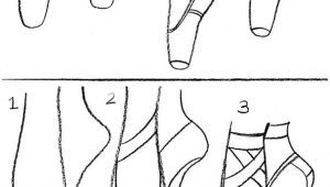 Drawing Easy Shoes Coloring Activity Pages How to Draw Ballet Pointe Shoes Dance